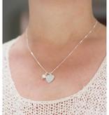 "KAYA jewellery Silver Necklace ""Moondance Opal 'Heart 10x12mm"