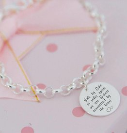 KAYA jewellery Silver Chain 'Mint' sister love