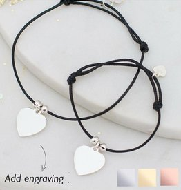 KAYA jewellery Mom & me bracelet 'engraving'