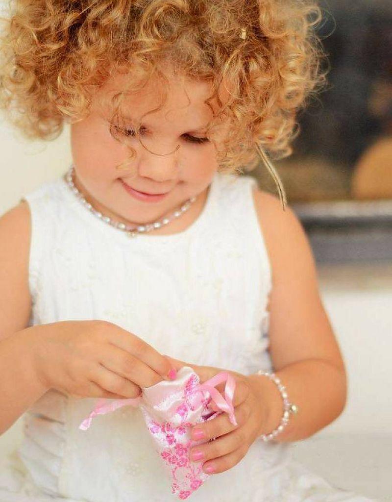 KAYA jewellery Silver Engraved Bracelet 'Cute'