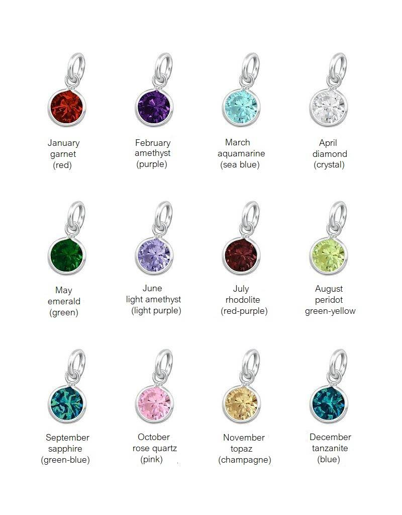 KAYA jewellery 925. sterling silver charms - to attach to your bracelet or necklace