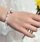 KAYA jewellery Beautiful Girls Bracelet 'Infinity White'