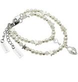 KAYA jewellery Key to my Heart Mum & Me Bracelet 'Infinity White'