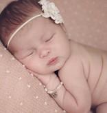 KAYA jewellery Beautiful Mum & Me Bracelet 'Infinity White' with Heart Charm