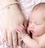 KAYA jewellery Key to my Heart Mum & Me Bracelet 'Infinity Pink'