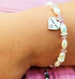 KAYA jewellery Mom & me set 'I love you ♡ - to the moon & back ♡'