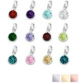 KAYA jewellery Swarovski® Charm birthstone (925. silver)