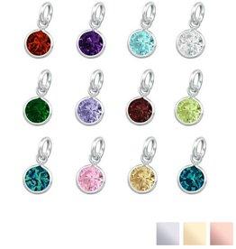 KAYA jewellery Swarovski® Charm birthstone (.925 silver)