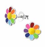 KAYA jewellery 'Coloful Flower' Stud Earring