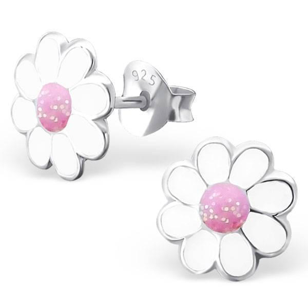 KAYA jewellery 'White Flower' Stud Earring