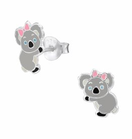 KAYA jewellery 'Cute Koala Bear' Stud Earring