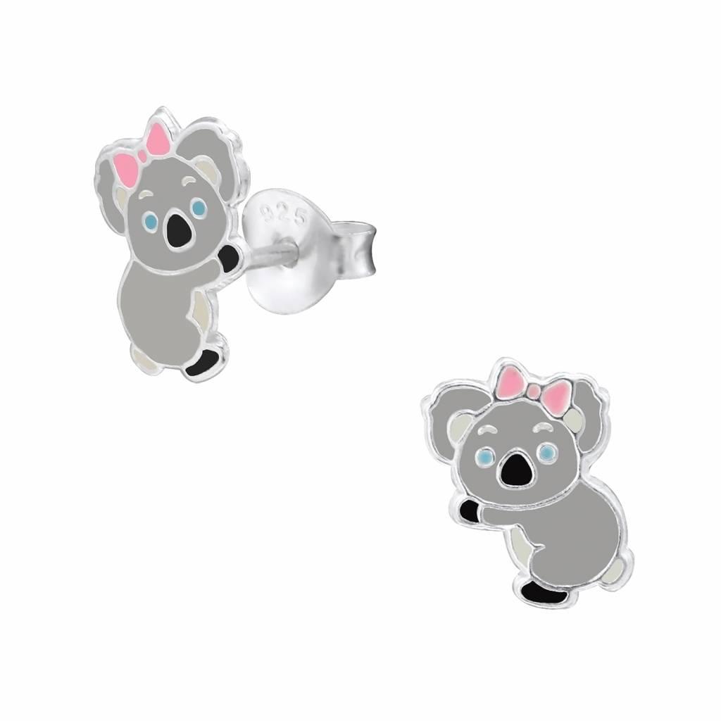 KAYA jewellery 'Cute Koala Bear' Stud Earring
