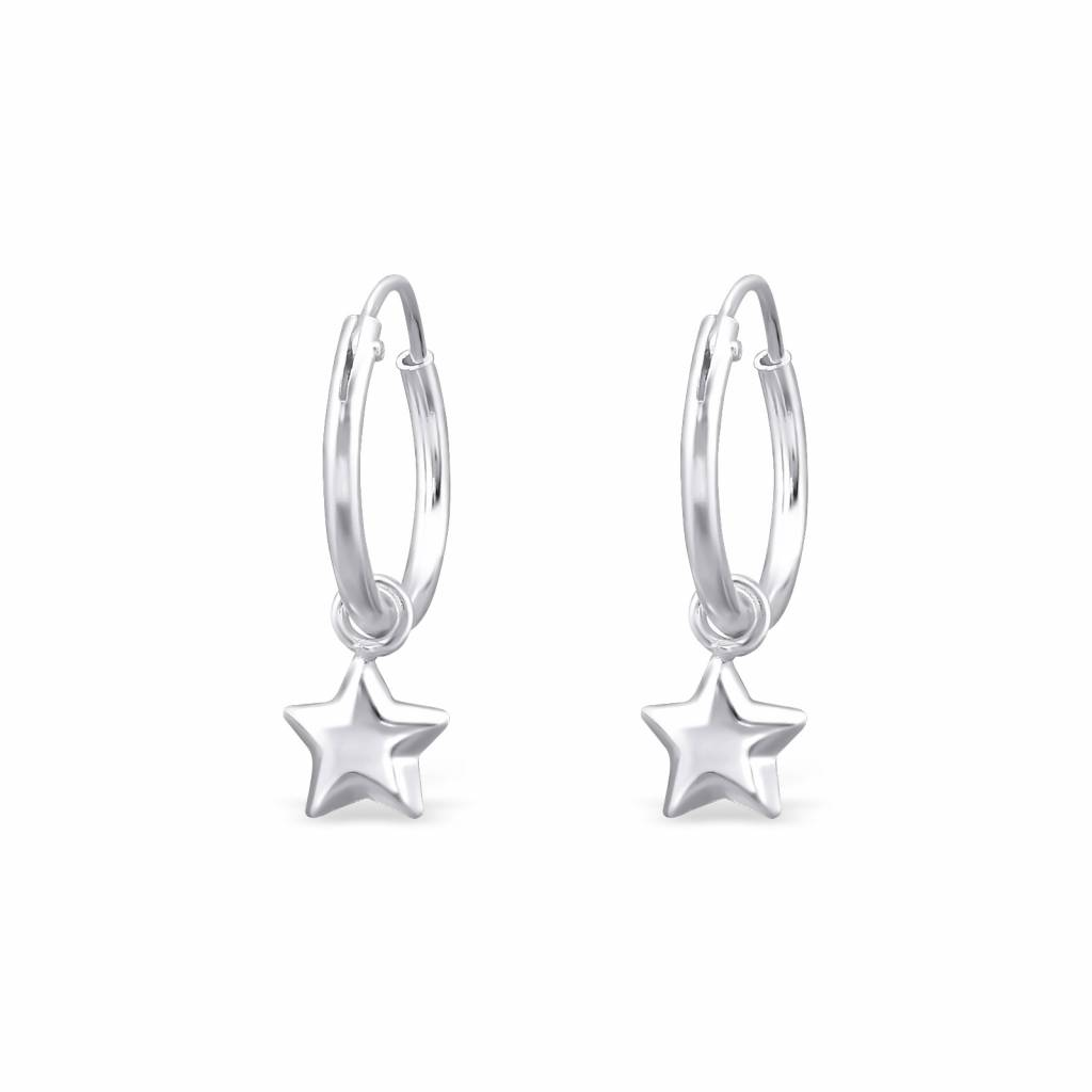 KAYA jewellery 'Silver Star' Earrings