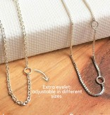 KAYA jewellery Silver Necklaces For 'Mom & Two Daughters'