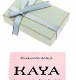 KAYA jewellery Ring with 2 birthstones 'Infinity Sparkle'