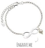 KAYA jewellery Infinity Silver Bracelet 'Forever'
