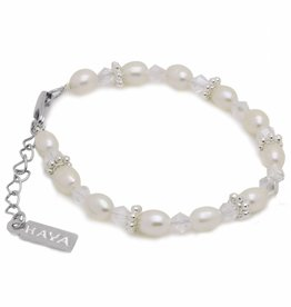 KAYA jewellery Girls Bracelet 'Infinity White'