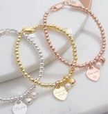 KAYA jewellery Three generation bracelets 'cute balls'