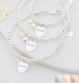 KAYA jewellery Three generation bracelets 'cute balls'