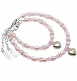 KAYA jewellery Beautiful Mum & Me Bracelet 'Princess' with Heart Charm