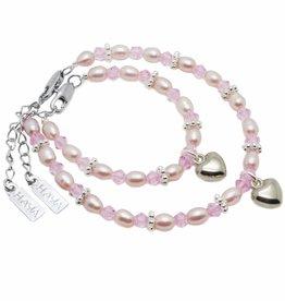 KAYA jewellery Mum & Me Bracelet 'Princess' with Heart