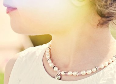 Girls necklaces (silver)