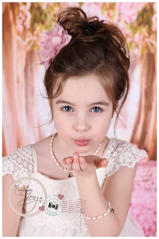 KAYA jewellery 3 Generations Bracelet 'Infinity Pink' Key to my Heart