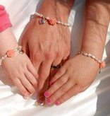 KAYA jewellery Mum & Me Bracelet 'Flower' with Heart