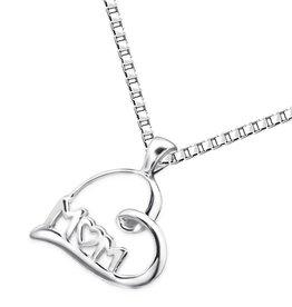 KAYA jewellery Silver Necklace 'M♡M'