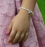 KAYA jewellery Silver Girls Bracelet 'Little Diva' Crystal Cross
