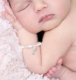 KAYA jewellery Beautiful Girls Bracelet 'Infinity Pink' with Key Charm
