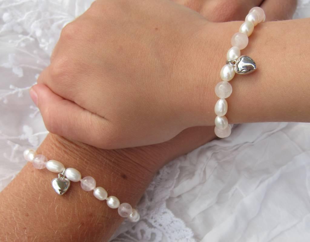 KAYA jewellery Girls Bracelet 'Love' with Heart Charm