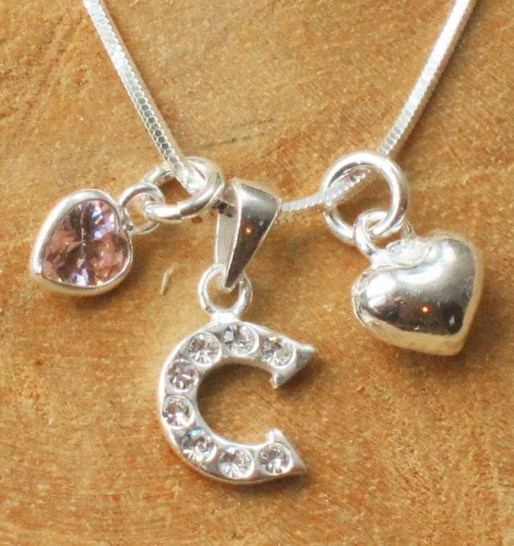 KAYA jewellery Sterling Silver Mum Necklace 'Love'