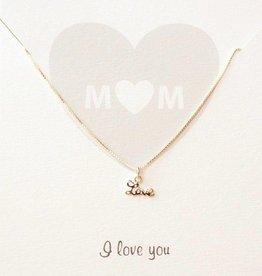 KAYA jewellery Jewellery Card 'M♡M, I love you'
