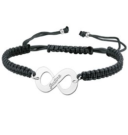 KAYA jewellery Names4ever Silver Names4ever Infinity Bracelet