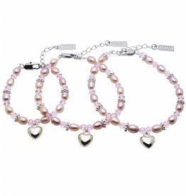 KAYA jewellery 3 Generations Bracelet 'Princess' with Heart