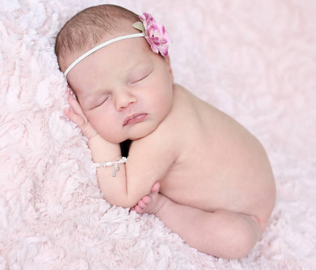 KAYA jewellery Girls Pink Bracelet 'Princess' with Key Charm at KAYA