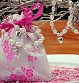 KAYA jewellery Silver Mum & Me Necklace 'Triple love'