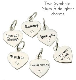 KAYA jewellery Accent Charms for Mum & Daughter