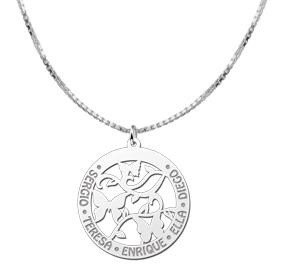 KAYA jewellery Silver Butterfly Necklace with Engravement
