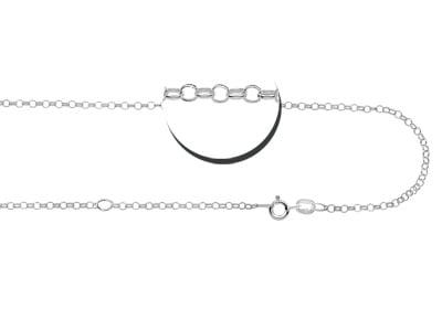 KAYA jewellery Silver Pendant 'Tree of Life' with 1 Birth Stone
