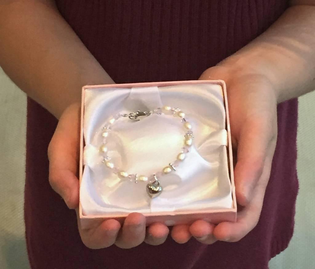 KAYA jewellery 3 Generations Bracelets 'Precious' with Crystal Cross