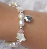 KAYA jewellery 3 Generations Silver Bracelets 'Little Star' with Cross