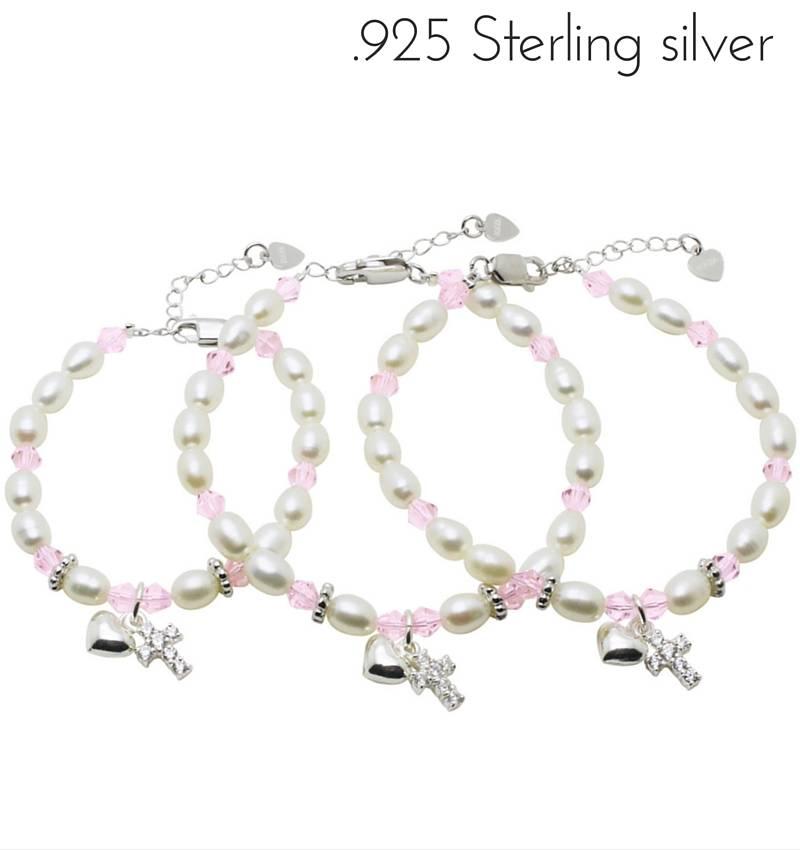 KAYA jewellery 3 Generations Silver Bracelets 'Diva' with Cross