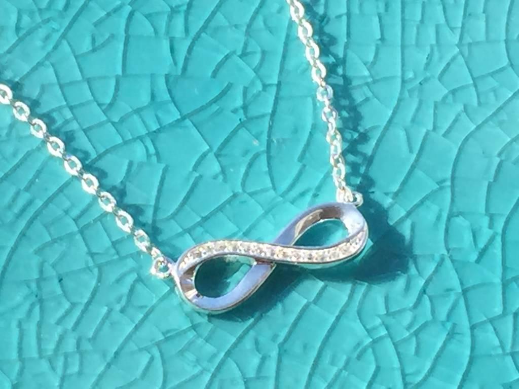 KAYA jewellery Silver Necklace, Bracelet & Earings 'Infinity Forever'