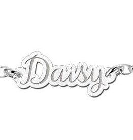 KAYA jewellery Names4ever Personalised Silver name bracelet