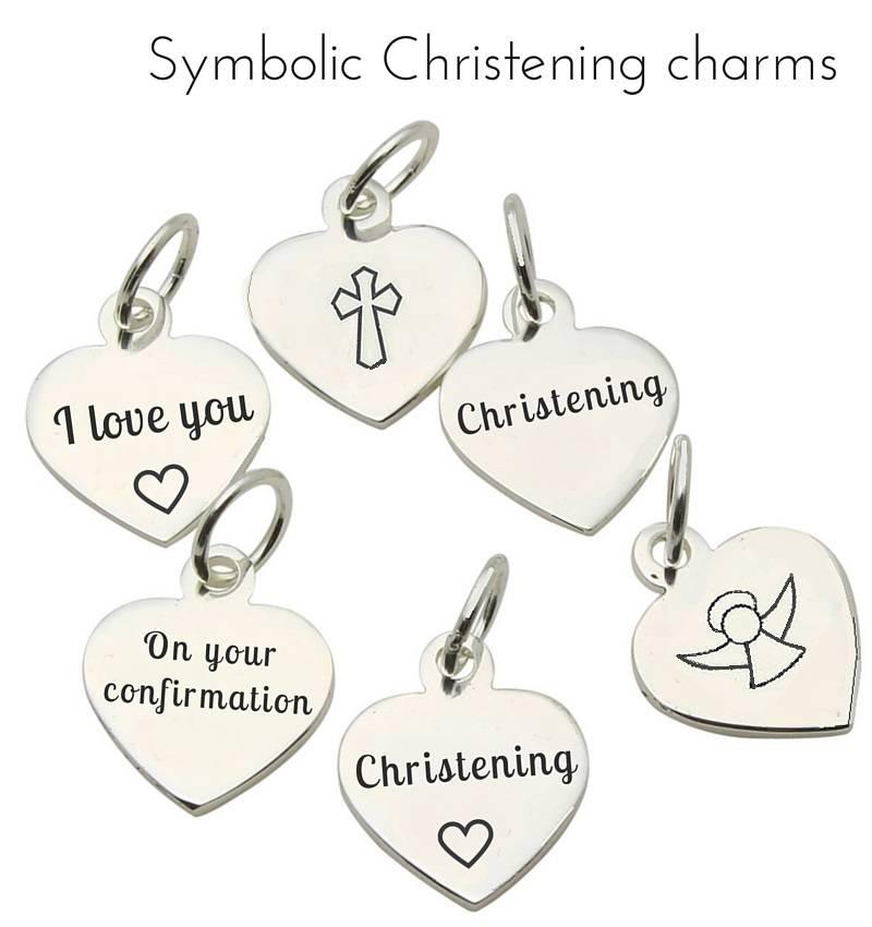 KAYA jewellery Beautiful Girls Christening - Communion Bracelet 'Princess' with Small Cross Charm