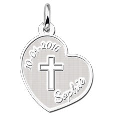 KAYA jewellery Silver pendant 1st Communion