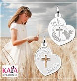 KAYA jewellery First Communion Engraved Jewellery for Girl