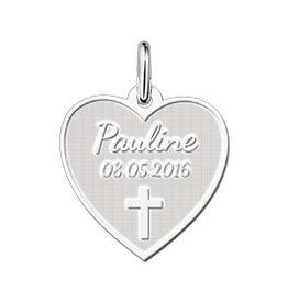 KAYA jewellery Heart Shaped First Communion Pendant